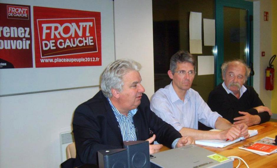 Assemblée citoyenne du Front de gauche - Crisolles, 20 mars 2012