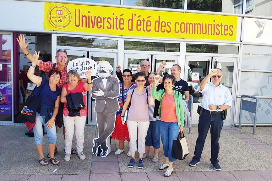 Plus de 1 000 participants gonflés à bloc à l'Université d'été du PCF ! - Angers, 24 au 26 août 2018