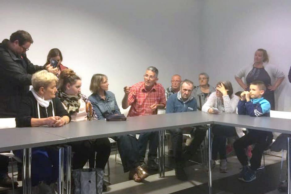 La mobilisation se poursuit contre la fermeture du Carrefour Contact ! - Beauvais, 11 juin 2018
