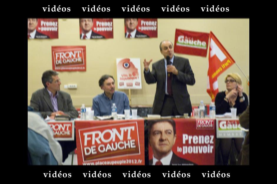 Meeting-débat du Front de gauche Oise sur l'Europe - Villers-Saint-Paul, 11 avril 2012