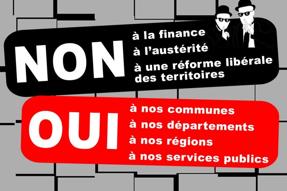 Non à une réforme territoriale dictée par le libéralisme !