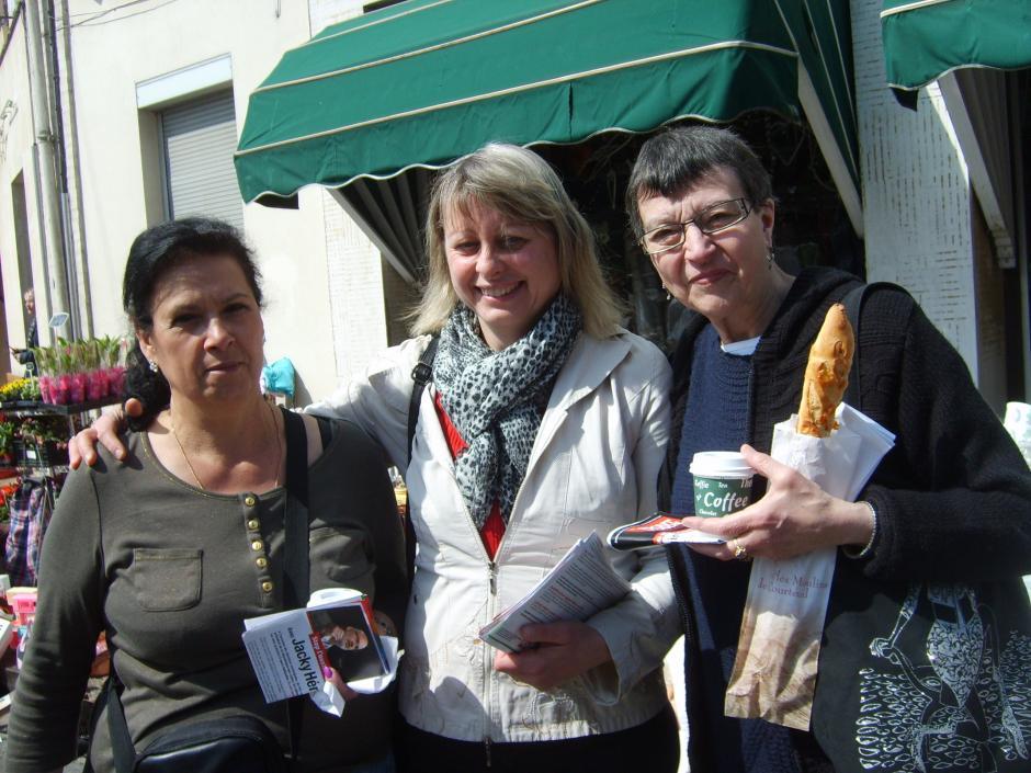 Hélène Balitout, une candidate à la rencontre des citoyens - Thourotte, 4 mai 2014