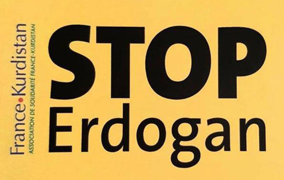 5 novembre, Paris - #StopErdogan ! Solidarité avec les députés du HDP et tous les élus locaux emprisonnés !
