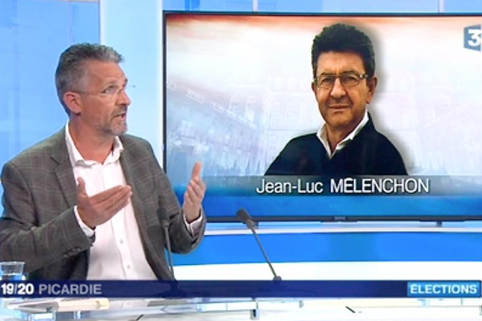France 3 Picardie-JT 19-20-Picardie-Les communistes avec Jean-Luc Mélenchon - 13 avril 2017