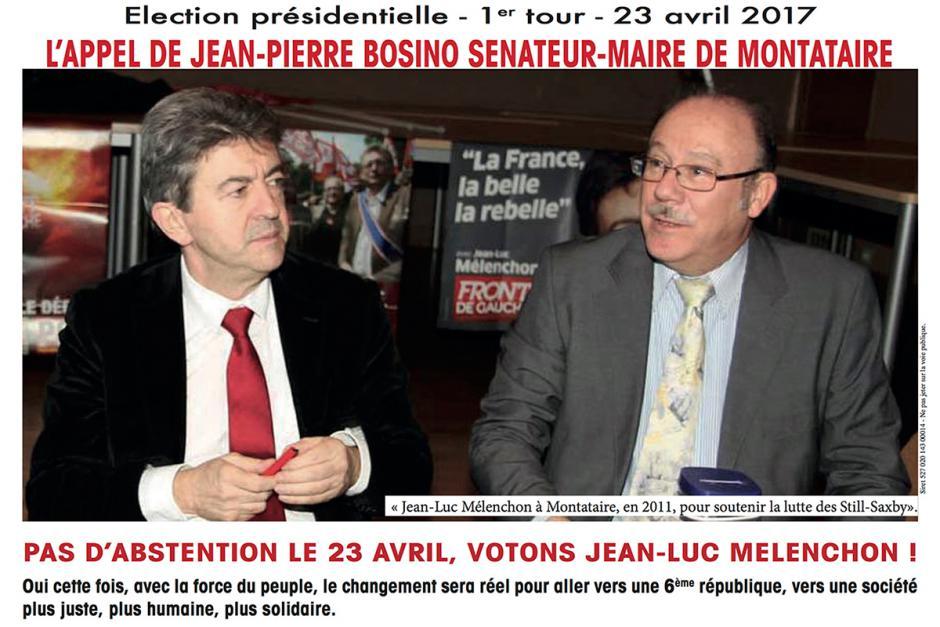 L'appel de Jean-Pierre Bosino : « Pas d'abstention le 23 avril, votons Jean-Luc Mélenchon ! »