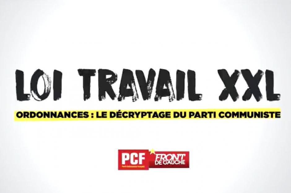 Ordonnances Macron : le décryptage du Parti communiste