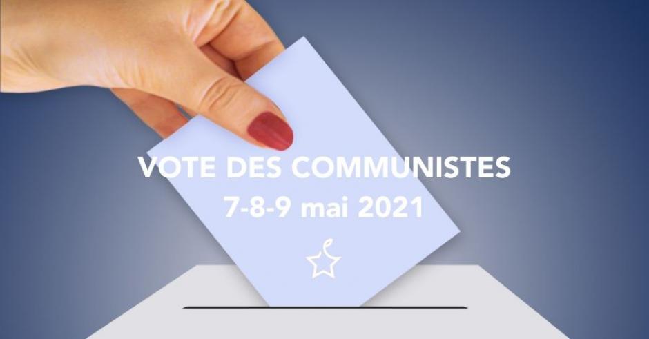 Résultats de la consultation des adhérent·e·s du Parti communiste sur les échéances 2022 - 9 mai 2021