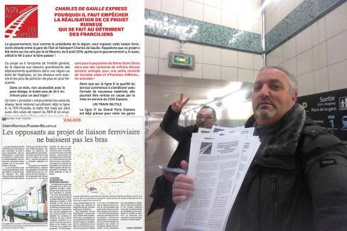 L'opposition et les exigences montent contre le CDG Express ! - Oise et Île-de-France, 9 mars 2017