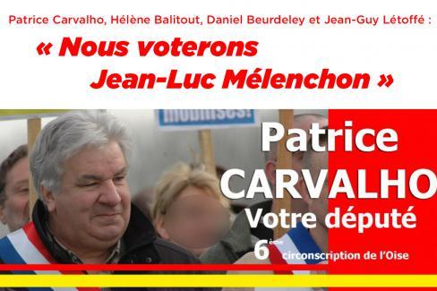 Patrice Carvalho, Hélène Balitout, Daniel Beurdeley & Jean-Guy Létoffé : « Présidentielle : un vote peut changer la donne »
