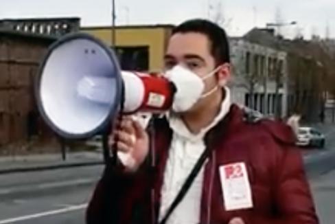 Contre la précarité étudiante, les jeunes veulent être entendu·e·s ! - Amiens, 20 janvier 2021
