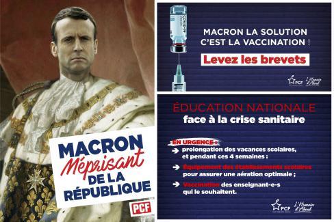 Allocution d'Emmanuel Macron sur la crise sanitaire de la Covid-19 : « gonflé le gars ! » - 31 mars 2021