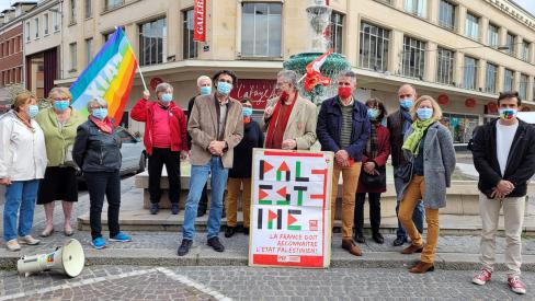 Jérusalem : exigeons des sanctions ! - Beauvais, 12 mai 2021