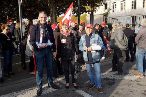 Stop à la casse sociale de Macron ! Résistance et alternative - Oise, 19 octobre 2017
