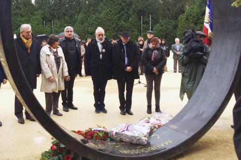 Journée pour la mémoire et pour la Paix, avec Pierre Laurent - Oise, 7 novembre 2018