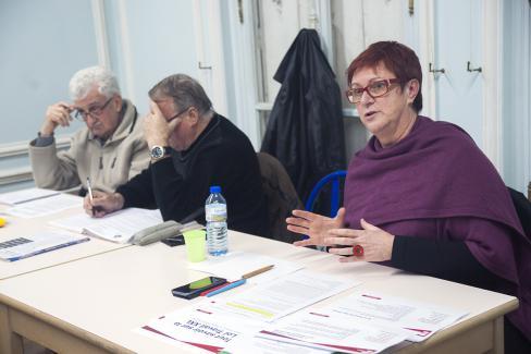 Frédérique Landas : « Face à la nocivité de la loi Travail XXL, portons au débat des propositions sociales et économiques progressistes » - Saint-Maximin, 30 novembre 2017