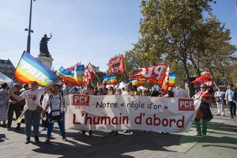 Les communistes marchent pour la paix : il est temps de rompre avec les logiques de guerre ! - Paris, 24 septembre 2016
