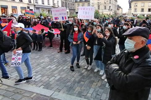 Dans la lutte pour une paix durable, le peuple arménien peut compter sur la solidarité du Parti communiste français - 10 novembre 2020