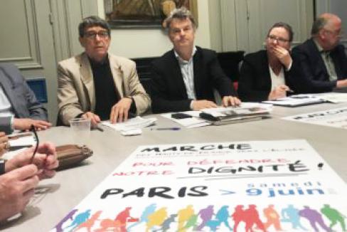 2 500 kilomètres pour déposer le Manifeste des Hauts-de-France à l'Élysée le 9 juin !