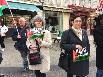 Gaza : « les mots ne suffisent plus et l'heure est aux sanctions si les exactions d'Israël ne cessent pas » - Beauvais, 6 avril 2018