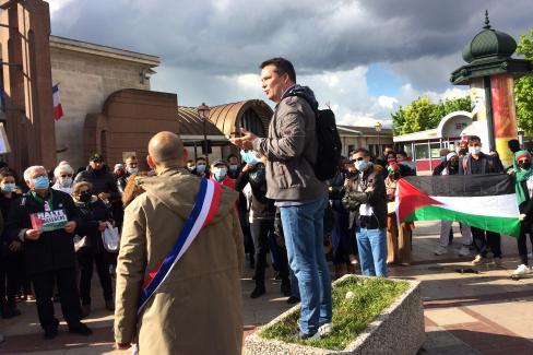 Solidarité avec les Palestinien·ne·s, le gouvernement français doit réagir et agir ! - Creil, 18 mai 2021