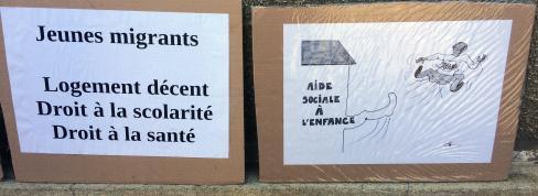 Le Conseil départemental de l'Oise doit respecter les droits des jeunes migrants ! - Beauvais, 8 septembre 2021