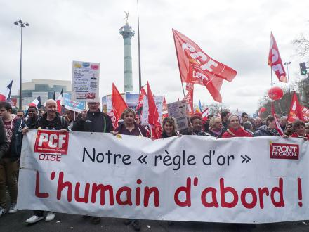 « L'humain d'abord » marche pour la 6e République ! - Paris, 18 mars