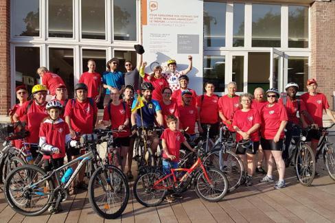 La 9e Rando Vélo Coco a roulé vers la douceur océane - Beauvais-Dieppe-Le Tréport, 29 & 30 juin 2019