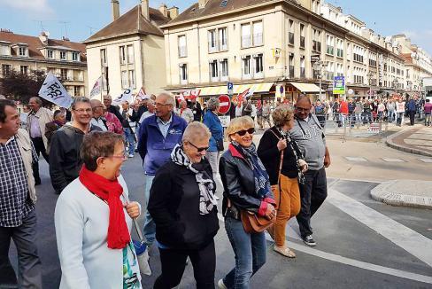 « Arrêtez de maltraiter les retraité-e-s ! » - Beauvais, 18 octobre 2018