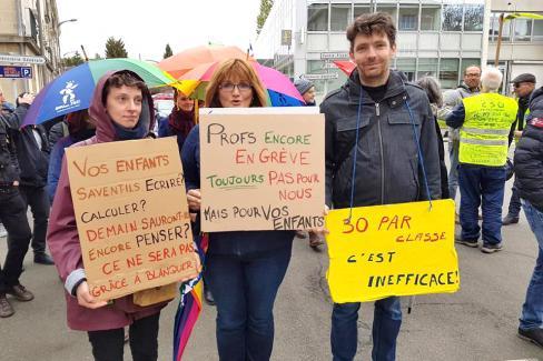 Forte mobilisation contre la politique macroniste de démolition de la Fonction publique ! - Beauvais, 9 mai 2019