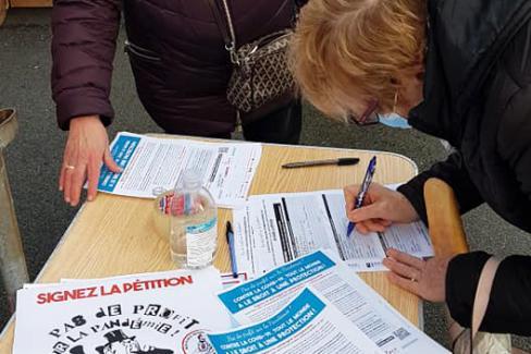 « Pas de profit sur la pandémie », je signe ! - Beauvais, 18 janvier 2021