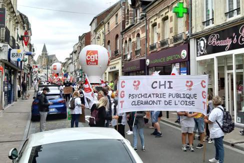 Solidarité avec les personnels des hôpitaux psychiatriques ! - Clermont, 30 juin 2020