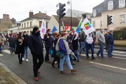 «Ne laissons pas le gouvernement et Macron nous faire payer la crise ! » - Oise, 4 février 2021