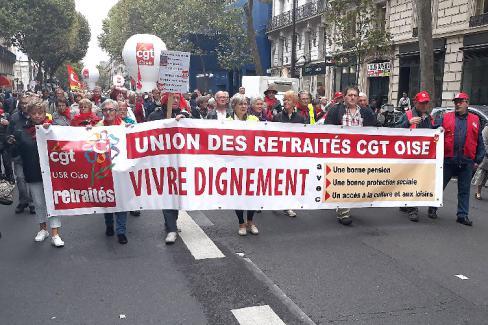 Les retraités contre la mort sociale - Paris, 28 septembre 2017