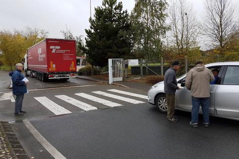 Loi Travail XXL : « Robin des Bourges » n'a pas partie gagnée - Saint-Just-en-Chaussée, 24 octobre 2017