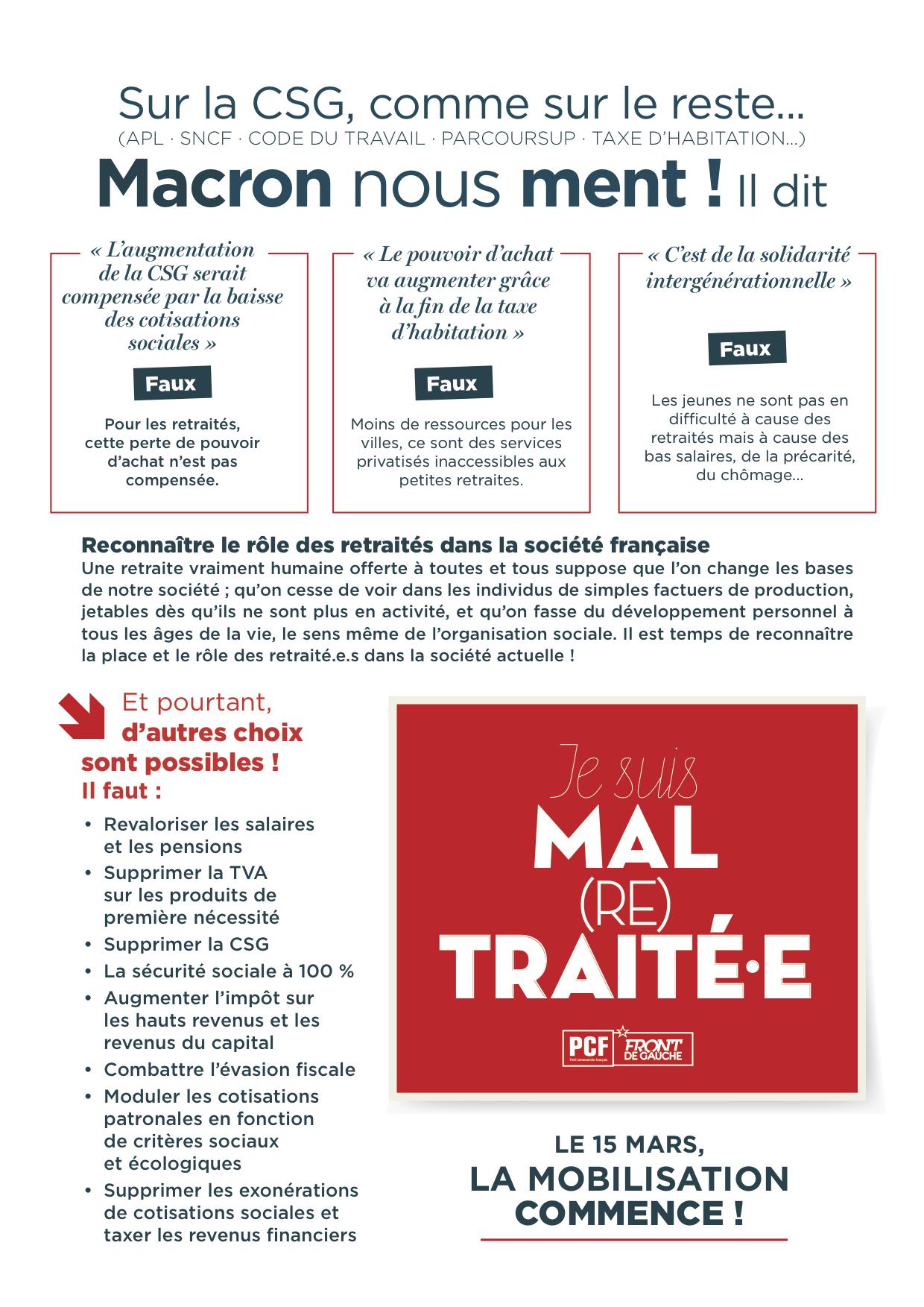 Tract Hold Up Sur Les Retraites Ce N Est Pas Aux Retraites De